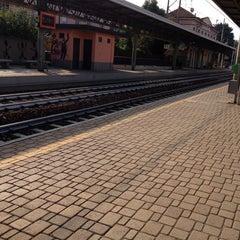 Photo taken at Stazione Portichetto Luisago by Rosi F. on 9/26/2013