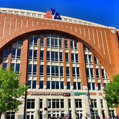 Photo taken at American Airlines Center by Faith H. on 4/6/2013