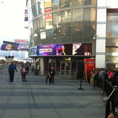 Photo taken at Microsoft Theater by Charlie K. on 11/18/2012