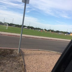 Photo taken at Soccer Fields by Paul H. on 4/9/2014
