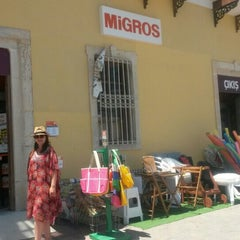 Photo taken at Migros by Meltem D. on 7/17/2015