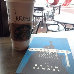 Photo taken at Starbucks by Justin B. on 3/17/2014