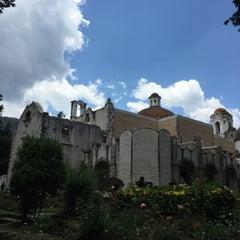 Photo taken at Ex Convento del Desierto de los Leones by Rodrigo N. on 5/1/2015