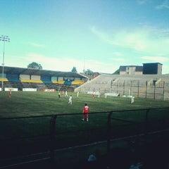 Photo taken at Estadio Ruben Marcos Peralta by Felipe P. on 1/5/2013