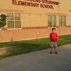 Photo taken at Giddens-Steadham Elementary by Robert N. on 8/22/2014