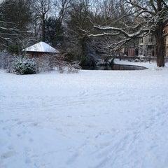 Photo taken at Muinkpark by Eva D. on 1/15/2013
