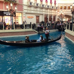 Photo taken at Venetian Canal by Chris P. on 12/21/2012