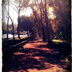Photo taken at Parque Arboledas by John S. on 12/5/2012