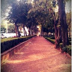 Photo taken at Parque Arboledas by John S. on 12/26/2012