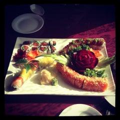 Photo taken at Fuji Sushi House by Ashley H. on 12/13/2012