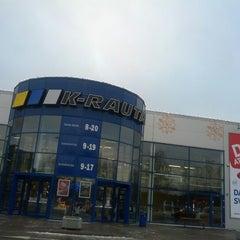 Photo taken at K-rauta by Maris P. on 12/31/2012
