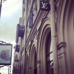 Photo taken at Louis Vuitton by Sasha Y. on 7/23/2013