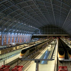 Photo taken at London St Pancras Eurostar Terminal by Eurostar on 12/21/2013