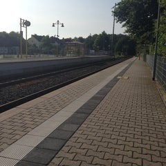 Photo taken at Bahnhof Köppern by Daniel D. on 7/14/2013