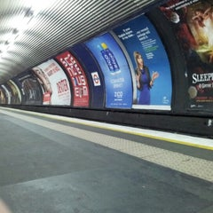 Photo taken at Old Street London Underground Station by John S. on 12/9/2012