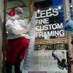 Photo taken at Lee's Art Shop by Becky D. on 11/28/2012
