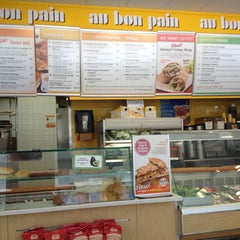 Photo taken at Au Bon Pain by Dennis C. on 9/6/2013