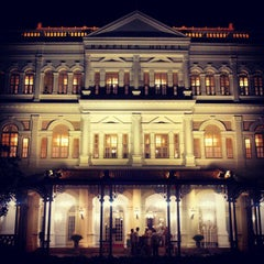 Photo taken at Raffles Hotel by Kennan d. on 11/24/2012