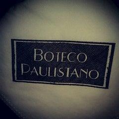 Photo taken at Boteco Paulistano by Fabiana C. on 1/25/2013