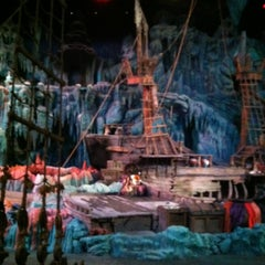 Photo taken at The Eighth Voyage Of Sindbad Stunt Show by Emily F. on 11/24/2012