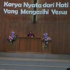 Photo taken at GKI Bungur by Daniel B. on 3/30/2014