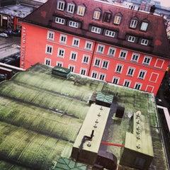Photo taken at NH München Deutscher Kaiser by Oleg K. on 12/21/2012