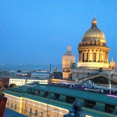 Photo taken at W St. Petersburg by Анастасия П. on 6/1/2013
