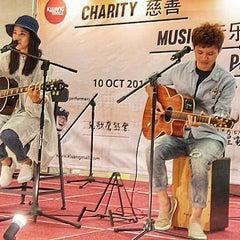 Photo taken at Kluang Mall by Vino on 10/10/2015