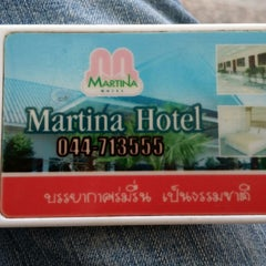 Photo taken at Matina Hotel Surin by Viggo H. on 12/1/2014