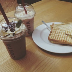Photo taken at Costa Coffee by Cynthia M. on 7/3/2014