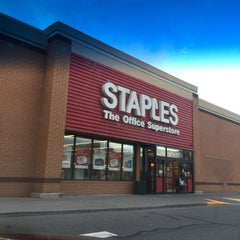 Photo taken at Staples by Rose B. on 1/16/2016