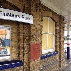Photo taken at Finsbury Park Railway Station (FPK) by КIrill N. on 6/15/2013