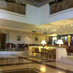 Photo taken at Grand Hotel Palace by Sofia M. on 11/25/2012