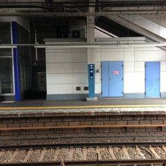 Photo taken at 杉田駅 (Sugita Sta.) (KK46) by Pon N. on 6/12/2013