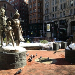 Photo taken at The Freedom Trail by Andrey S. on 3/9/2013