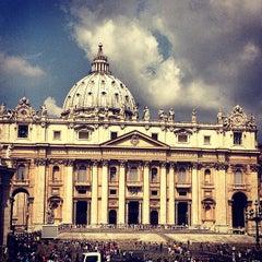 Photo taken at Piazza San Pietro by ❤Julianna S. on 7/20/2013