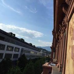 Photo taken at Hotel Waldstätterhof by Siddhartha J. on 8/6/2015