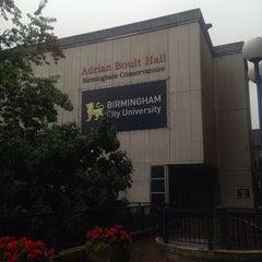 Photo taken at Birmingham City University by Alis M. on 9/1/2014