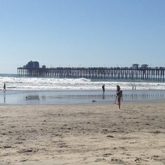 Photo taken at Oceanside Pier by Chuck S. on 3/10/2013