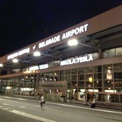 Photo taken at Nikola Tesla Airport (BEG) by Ольга М. on 6/23/2013