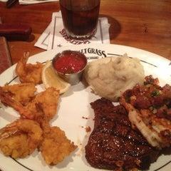 Photo taken at Saltgrass Steak House by Brandon B. on 11/8/2012