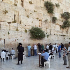 Photo taken at Western Wall (הכותל) by Aviel S. on 5/21/2013