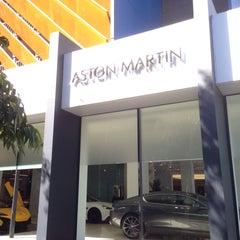 Photo taken at Aston Martin by Martin on 1/7/2016