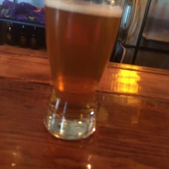 Photo taken at Barrier Brewing Co. by Krys S. on 8/8/2015