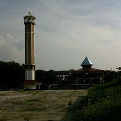 Photo taken at Masjid Agung Kalianda by Sari a. on 11/18/2012