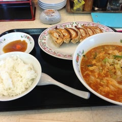 Photo taken at 餃子の王将 伊勢崎店 by たかはる on 6/17/2013