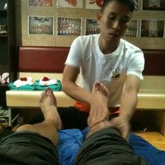 Photo taken at Sabai Thai massage by Sean N. on 6/20/2013