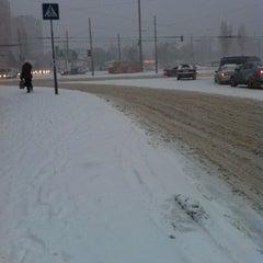 Photo taken at Площадь Толбухина by Anastasia C. on 1/25/2013