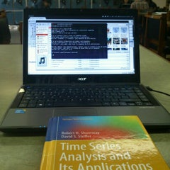 Photo taken at Biblioteca De Posgrado Enzo Levi by Bruno G. on 11/12/2012