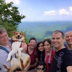 Photo taken at Whiteside Mountain by Carrie B. on 6/7/2015